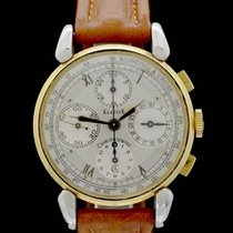 Chronoswiss Classic Gold/Steel 37mm Silver Roman numerals