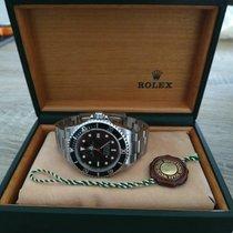 Rolex Sea-Dweller 4000 Acier 40mm Noir Sans chiffres France, LE MEUX