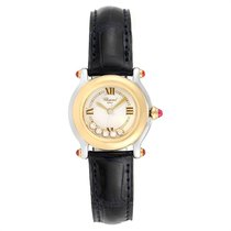 Chopard Happy Sport pre-owned 26mm White Leather