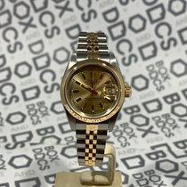 Rolex Oyster Perpetual Lady Date Steel 26mm Champagne No numerals United Kingdom, Tunbridge Wells