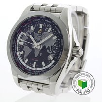 Breitling Galactic Unitime WB3510 Very good Steel 44mm Automatic