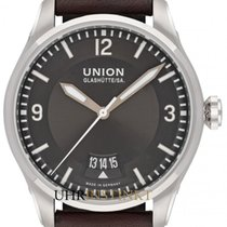 Union Glashütte Belisar Pilot Steel 41mm Grey