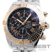 Breitling Chronomat Evolution Gold/Stahl 42mm Schwarz