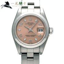 Rolex Oyster Perpetual Lady Date nouveau 2002 Remontage automatique Montre avec coffret d'origine et papiers d'origine 79160