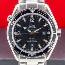 Omega Seamaster Planet Ocean pre-owned 45.5mm Black Date Steel