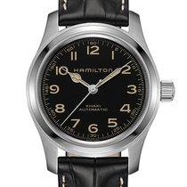 Hamilton Khaki Field Steel 42mm Black Arabic numerals