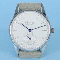 NOMOS 321 Steel 2019 Orion 33 32,8mm new