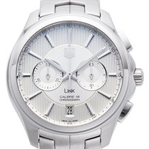 TAG Heuer Link Calibre 18 Steel 40,00mm Silver
