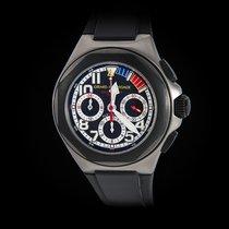 Girard Perregaux Chronograph 45mm Automatic pre-owned Laureato Black