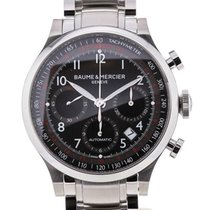 Baume & Mercier Capeland Chronograph 42 Black Steel