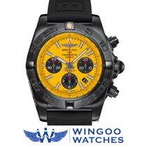 Breitling CHRONOMAT 44 BLACKSTEEL Ref. MB0111C3/I531/262S/M20D...