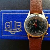 GUB Glashütte Stål 37mm Manuelt 664/3 brugt