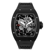 Richard Mille Aluminum Manual winding Transparent No numerals 48mm pre-owned RM 035