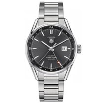 TAG Heuer Carrera 41mm Date GMT Automatic Mens Watch WAR2012.B...