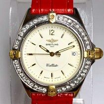 Breitling Callisto Gold/Steel 34mm Arabic numerals United States of America, New York, New York