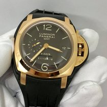 Panerai Luminor 1950 8 Days GMT 18k Rose Gold 44mm
