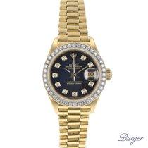 Rolex Datejust Yellow Gold President Diamonds