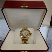 Cartier Pasha C Gold 1035 35mm All Gold Automatic, Roman Nume