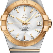 Omega Constellation Ladies Gold/Steel 35mm Silver United States of America, New York, New York