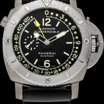 Panerai Luminor Submersible 1950 Depth Gauge Titanium 47mm Black Arabic numerals United States of America, New York, New York