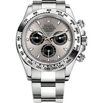Rolex White gold Automatic Grey new Daytona