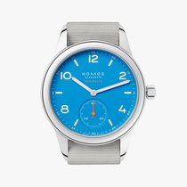 NOMOS 742 Steel Club Neomatik 37mm new