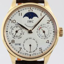IWC Portuguese Perpetual Calendar from 2018 complete with B + P
