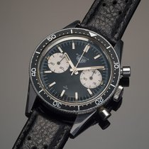 Heuer Chronograph 39mm Manual winding 1967 pre-owned Black