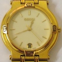Gucci 9200M Gold Plated  Quartz Wrist Watch