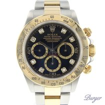 Rolex Daytona Gold/Steel Diamonds