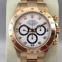 Rolex Daytona 16523 Yellow Gold / Diamond Dial