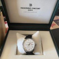Frederique Constant Classics Index GMT Steel 42mm Silver
