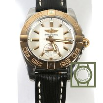 Breitling Galactic 36 Automatic MOP Dial Gold/Steel Black...