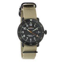 Shinola The Runwell Sport Mens Black PVD Steel Quartz Watch...