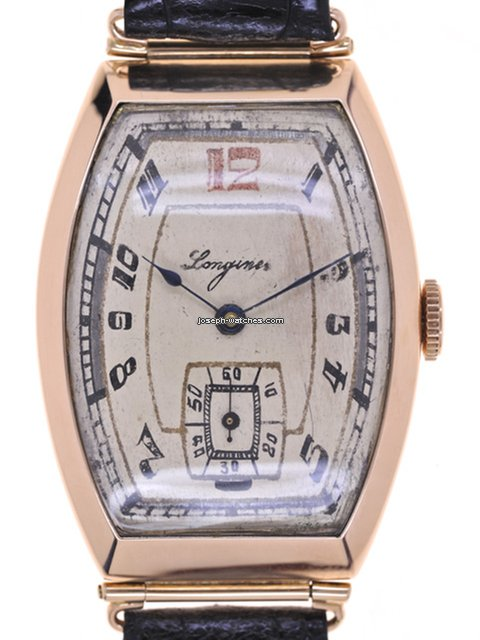 Longines Mans Wristwatch Tonneau For 2 238 For Sale From