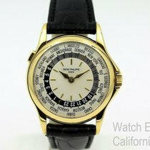 Patek Philippe Automatic White 37mm pre-owned World Time