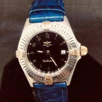 Breitling Callistino Staal 26mm Zwart Arabisch