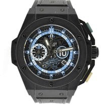 Hublot King Power Keramiek 48mm Doorzichtig