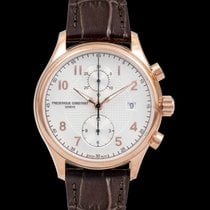 Frederique Constant Runabout Chronograph Steel 42mm Silver United States of America, California, San Mateo