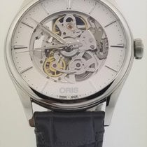 Oris Artelier Skeleton new Automatic Watch with original box and original papers 01 734 7721 4051-07 5 21 61FC