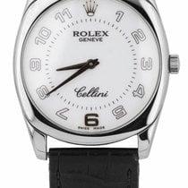 Rolex Cellini Danaos White gold 32mm White Arabic numerals United States of America, New York, Massapequa Park