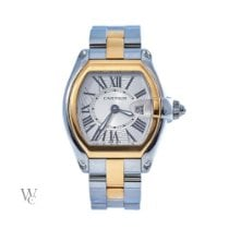 Cartier Roadster Gold/Steel 31mm Silver Roman numerals United Kingdom, London