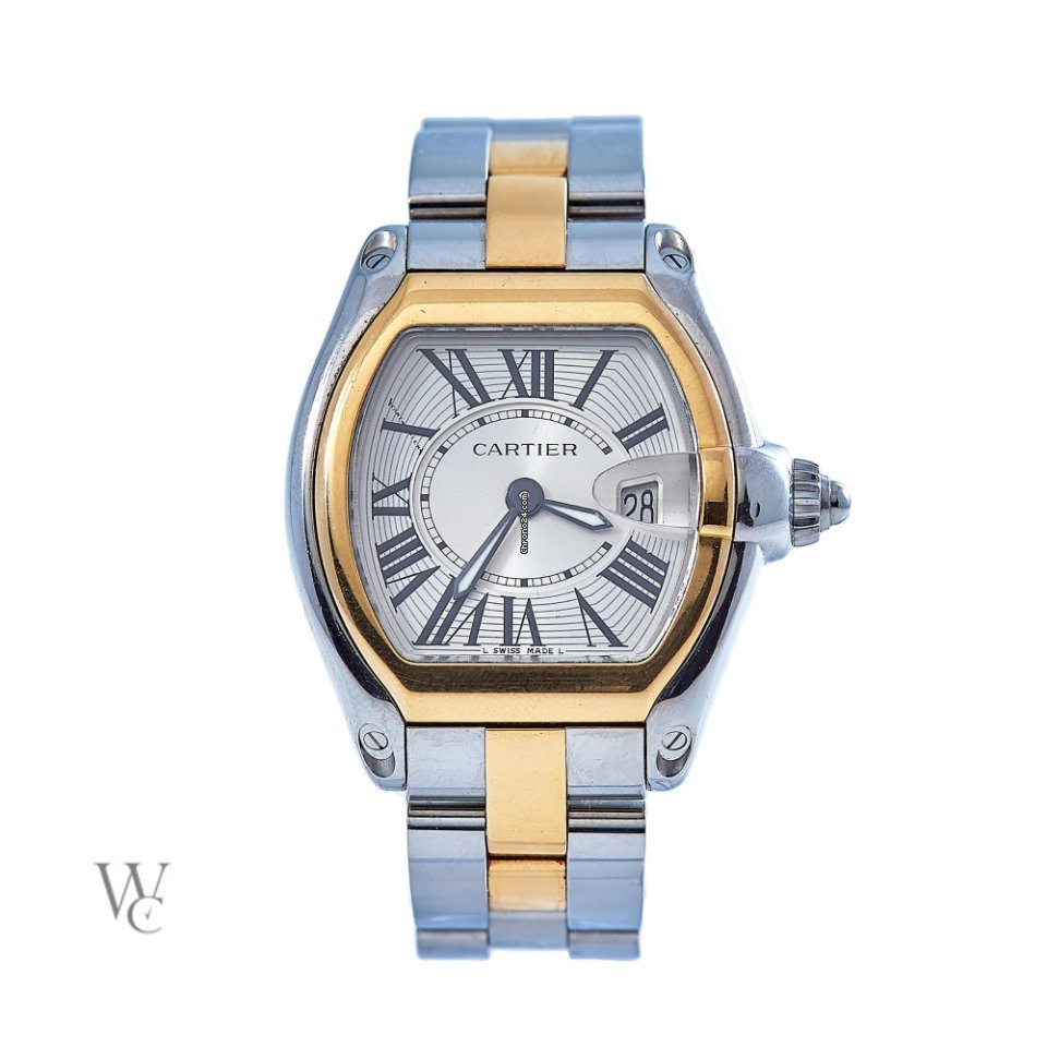 39c00e33556 Cartier Roadster - all prices for Cartier Roadster watches on Chrono24