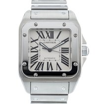 Cartier Santos 100 Steel 38mm Silver United States of America, Georgia, Atlanta