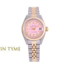 Rolex Lady-Datejust Золото/Cталь 26mm Розовый
