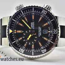 Oris Divers 01 643 7609 8454-07 4 24 34EB 2011 pre-owned