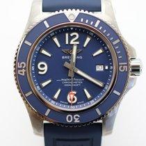 Breitling Superocean 44 Сталь 44mm Синий