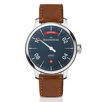 Meistersinger Urban Steel 40mm Blue