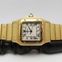 Cartier Santos (submodel) Жёлтое золото Белый
