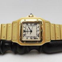 Cartier Santos (submodel) Oro giallo Bianco Italia, Rassina